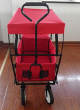 Folding Camping Wagon / Cart Collapsable Sturdy Steel Frame