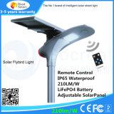 La meilleure qualité, prix bas, bonne apparence de toute l'intégration intelligente des réverbères solaires
