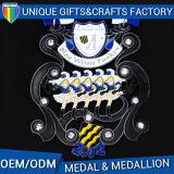 熱い販売カスタム亜鉛合金の金属メダルかスポーツの記念品の円形浮彫り