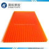 Alta calidad de la hoja de plástico de colores Hoja de policarbonato hueco de efecto invernadero