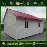 Casa minúscula prefabricada barata para África (LS-FL-075)