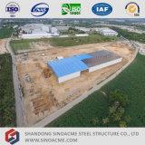 Prefabricated 강철 구조물 작업장 건물 제작