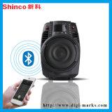 17 años de la marca de fábrica de Shinco de la carretilla del hogar de altavoz famoso del Karaoke