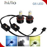 Lumière 40W 4000lm H4 de véhicule de tête de lampe de faisceau de la pièce d'auto DEL Hi/Lo de constructeur