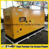 O gerador do gás natural com potência e o calefator recuperam o sistema