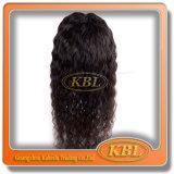 De produit capillaire de qualité de perruque de lacet de cheveux d'Indain demi