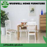 塗られた固体カシのホーム木の家具
