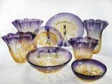 Highquality antique Murano Glass Plates pour Wall Decoration Art (YK-B60)