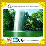 Fonte de água elevada dinâmica do pulverizador com função decorativa