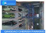 Case de véhicule de système de stationnement de véhicule de puzzle