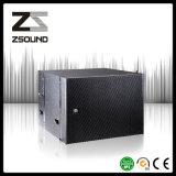 Ligne active de Zsound La108sp subwoofer de système d'alignement avec le module amplifié