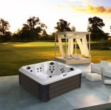 Sanitaire Portable SPA Whirlpool Romantique Massage de plein air Hot Tub M-3394
