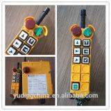 Contrôleur industriel de Radio Remote de grue de double vitesse de bouton de F24-6D 6