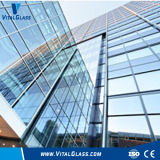 색을 칠한 Crushed Glass 또는 Dark Grey Tempered Glass/Building Glass//Fireproof Glass