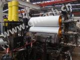 Commutateur continu d'écran de feuille d'extrudeuse de piston en plastique de double