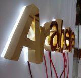Signe contre éclairé de magasin de LED