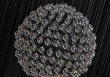 Candelabro de cristal da iluminação do pendente K9 para o repouso decorado (EM9269-7L)