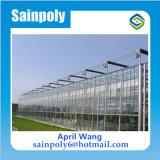 판매를 위한 저가 그리고 쉽게 다중 경간 Venlo 설치된 유리제 온실