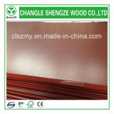 4X8 Feet Red Anti-Slip Film Faced Plywood