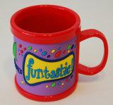 Кружка кофеего PVC Dinnerware пластичной чашки высокого качества выдвиженческая (009)
