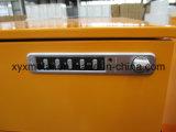 Classeurs en métal de la qualité Gt-11 sur des roues