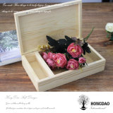 Hongdao Customized Wooden Wedding Craft Gift Photo USB Album Box _E
