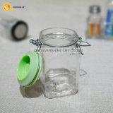 Glasclip-Oberseite-Gewürz rüttelt luftdichte Speicherkräuter
