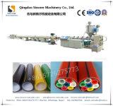 Ligne de expulsion chaîne de pipe de faisceau de silicium de HDPE de PE de production de galerie pour câbles de HDPE expulsant faisant la machine