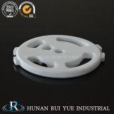 Valvola a disco di ceramica dell'allumina di elevata purezza, disco di ceramica dell'allumina