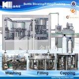 Mineralwasser-waschende füllende mit einer Kappe bedeckende Maschine