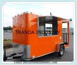 軽食のRemorque Caravaneの可動装置のコーヒーヴァン