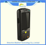 Ordenador móvil rugoso con el explorador del código de barras 1d/2D, programa de lectura de RFID