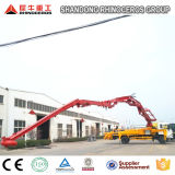 中国の構築機械装置32mのトラックによって取付けられる具体的なガソリンスタンド店頭価格