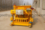 Qmy6-25 Mobiele Hydraulische Concrete Holle het Maken van de Baksteen van de Machine van de Baksteen Machine