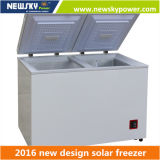 고품질 휴대용 아이스크림 냉장고 태양 강화된 급속 냉동 냉장실 차 냉장고