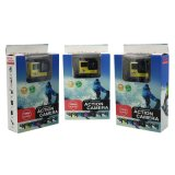二重スクリーン完全なHDはWiFiのスポーツの処置のカメラDVのレコーダーカムを防水する