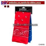 Écharpe d'impression de Headwear de cadeaux de fête d'anniversaire de mariage de Noël de cadeau de vacances (CH8106)