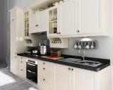Cabina de cocina de madera mezclada del PVC de la cabina de cocina (zc-008)
