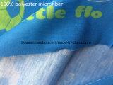 Microfiber estampé par logo fait sur commande badine le collet sans joint magique de sports tubulaire