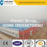 Armazém/oficina/hangar/fábrica industriais Prefab da construção de aço da instalação rápida barata