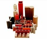 PVC/PE/PPの木製のプラスチックプロフィール機械放出機械