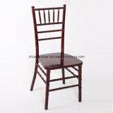 黒い純木の結婚式のChiavariの舞踏室の椅子