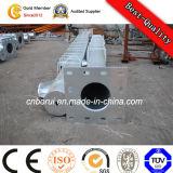 Elektrische Übertragungs-Kontrollturm-Stahlnetzverteilung Pole