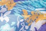 Женщины продают ретро шарф оптом шелка леопарда картины цветка и животного