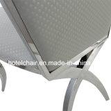 食堂の白いステンレス鋼の椅子のための商業使用