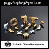 Rohranschluß 45 Grad-Kniestücke Jic männliches hydraulisches Schlauch-Edelstahl-Rohrfitting (1J4)
