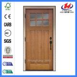 インドの内部によって切り分けられる木の単一のパネル・ドア(JHK-G32)