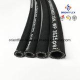 Boyau en caoutchouc hydraulique de constructeur de la Chine (SAE100 R2)