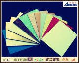 クラッディングおよび装飾のための多彩なアルミニウム合成のパネル