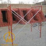 Гальванизированные леса рамки h трапа конструкции сделанные в Китае